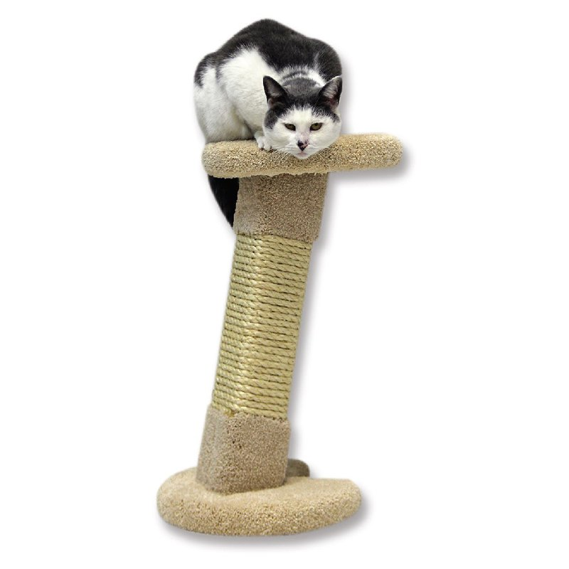 Beatrise Corner Cat Scratching Post by
