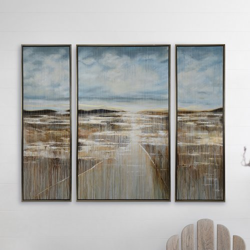 Red Barrel Studio 'Wanderer' Painting Print Multi-Piece Image on Canvas
