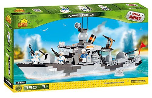Naval Force Small Army Military Ship 350 pcs. Building Set by Cobi Blocks by Cobi Blocks