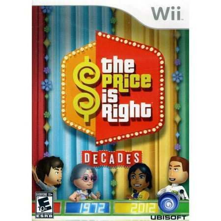 price is right decades - nintendo wii