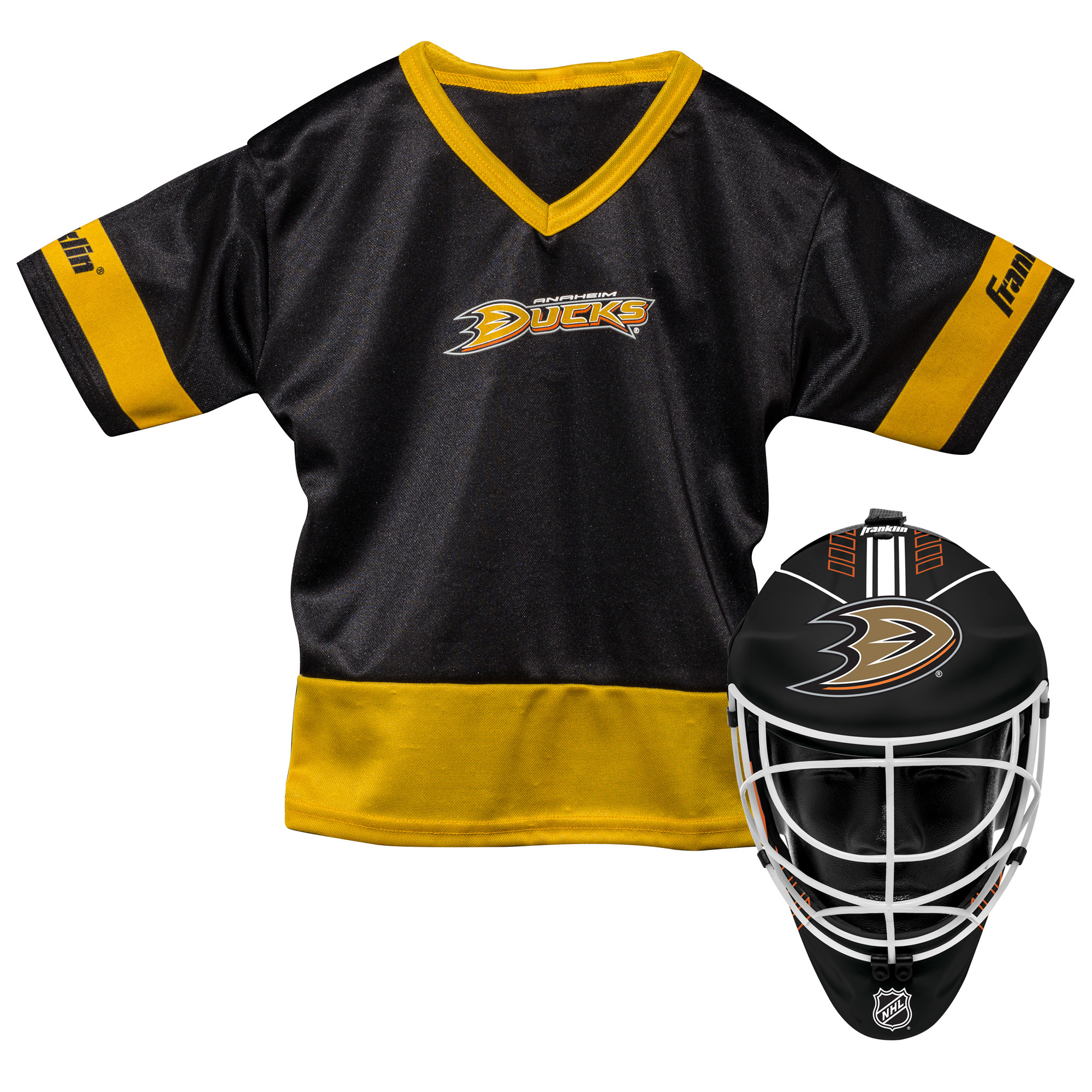 Franklin Sports NHL Anaheim Ducks Youth Team Uniform Set