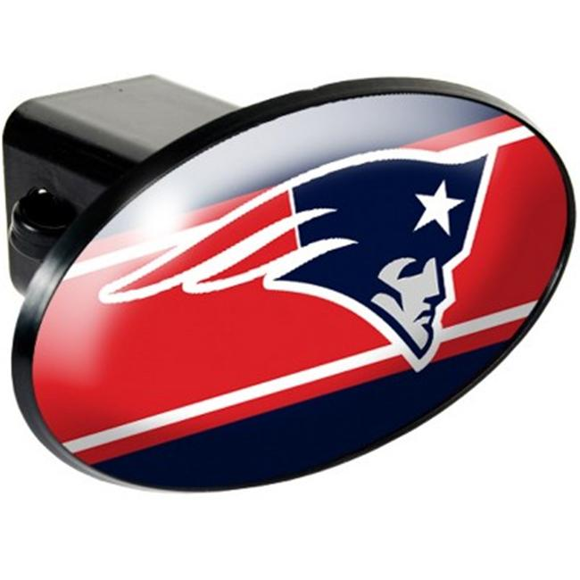 Great American Products 72011 Trailer Hitch Cover- New England Patriots