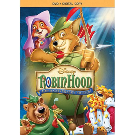 Robin Hood (40th Anniversary Edition) (DVD + Digital - Naughty Robin