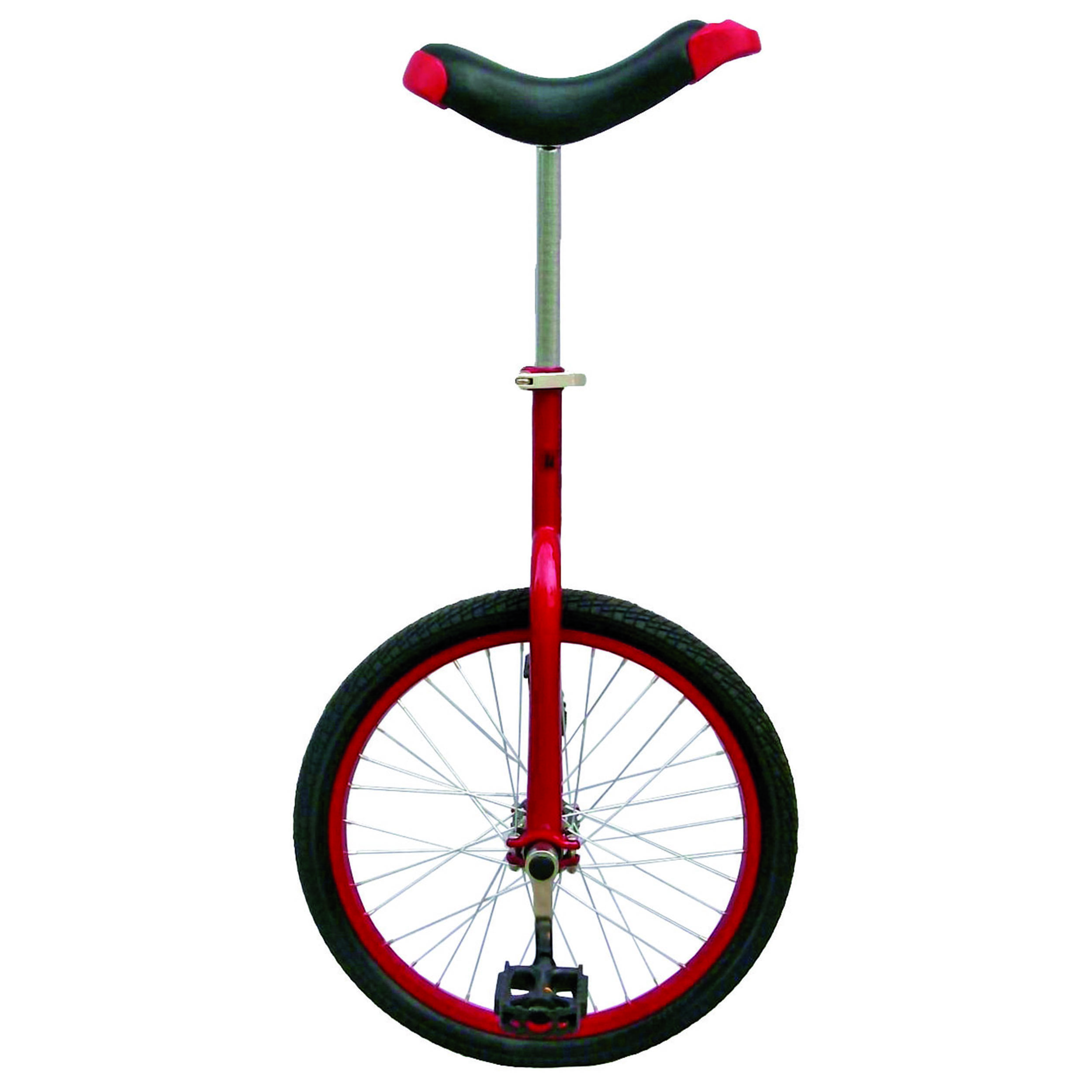 "Red 20"" Unicycle with Alloy Rim"