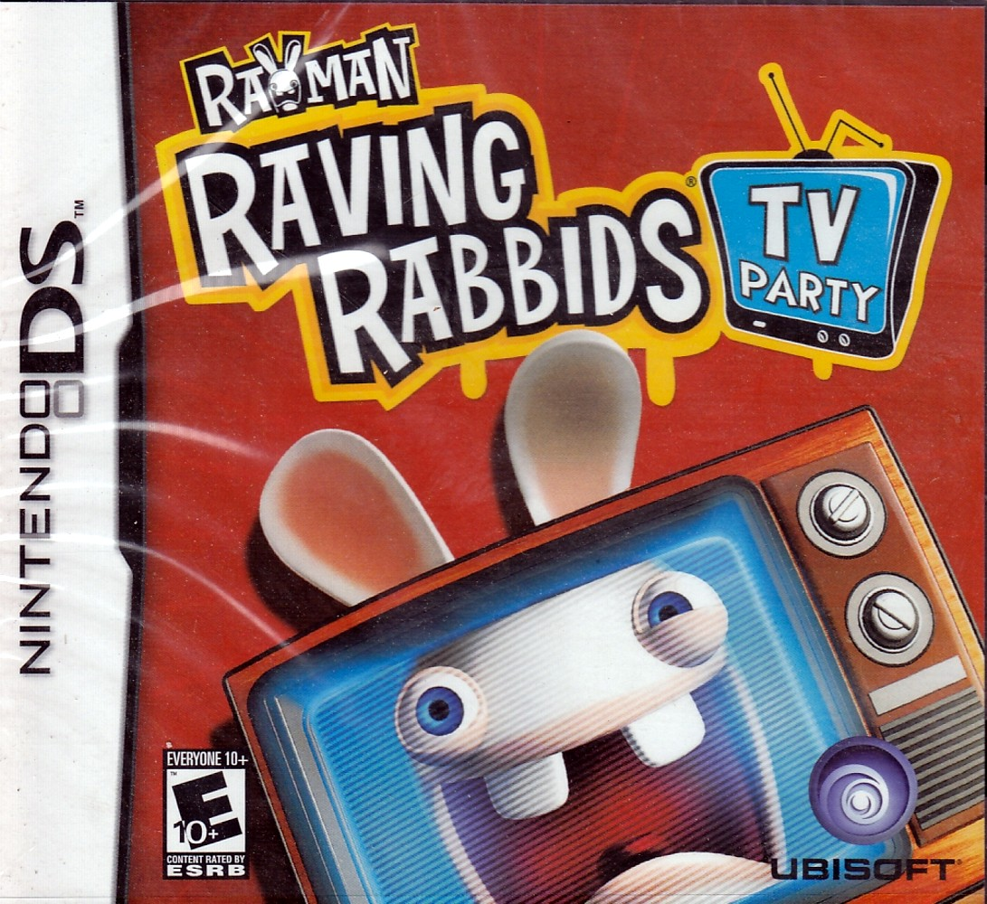 Rayman Raving Rabbids TV Party [Nintendo DS] by UBI Soft