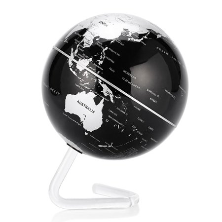 Yosoo 4 Self Rotate Globe ,Auto-Spinning Globe Rotating World Earth Map Sphere for Christmas,Valent,4 Self Rotate Globe - image 3 of 7