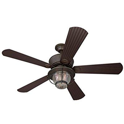 Harbor Breeze 52-in merrimack antique bronze indoor/outdo...