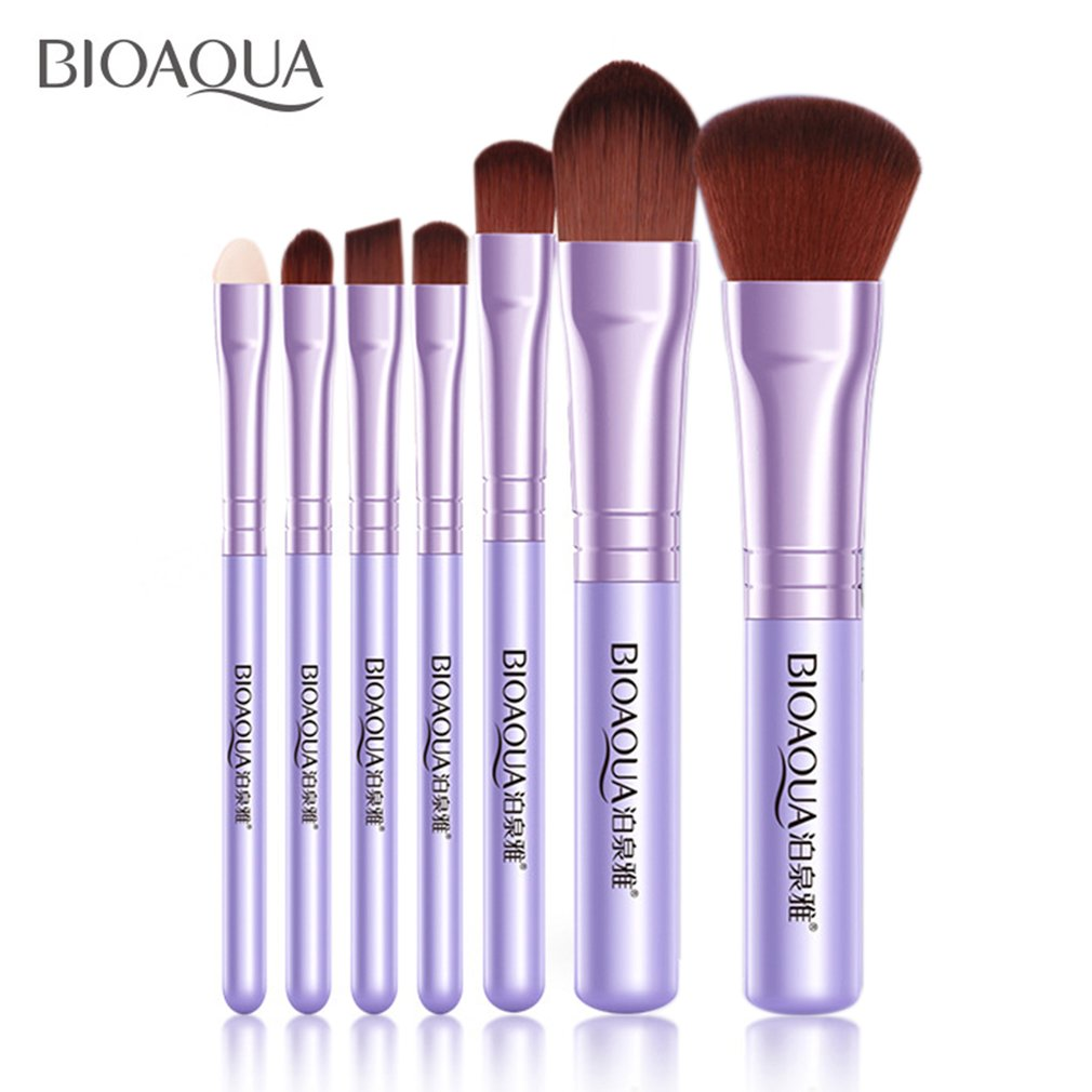 Cozime 7PCS/SET Women Facial Makeup Brushes Beauty Eye Shadow Foundation Blush Brush