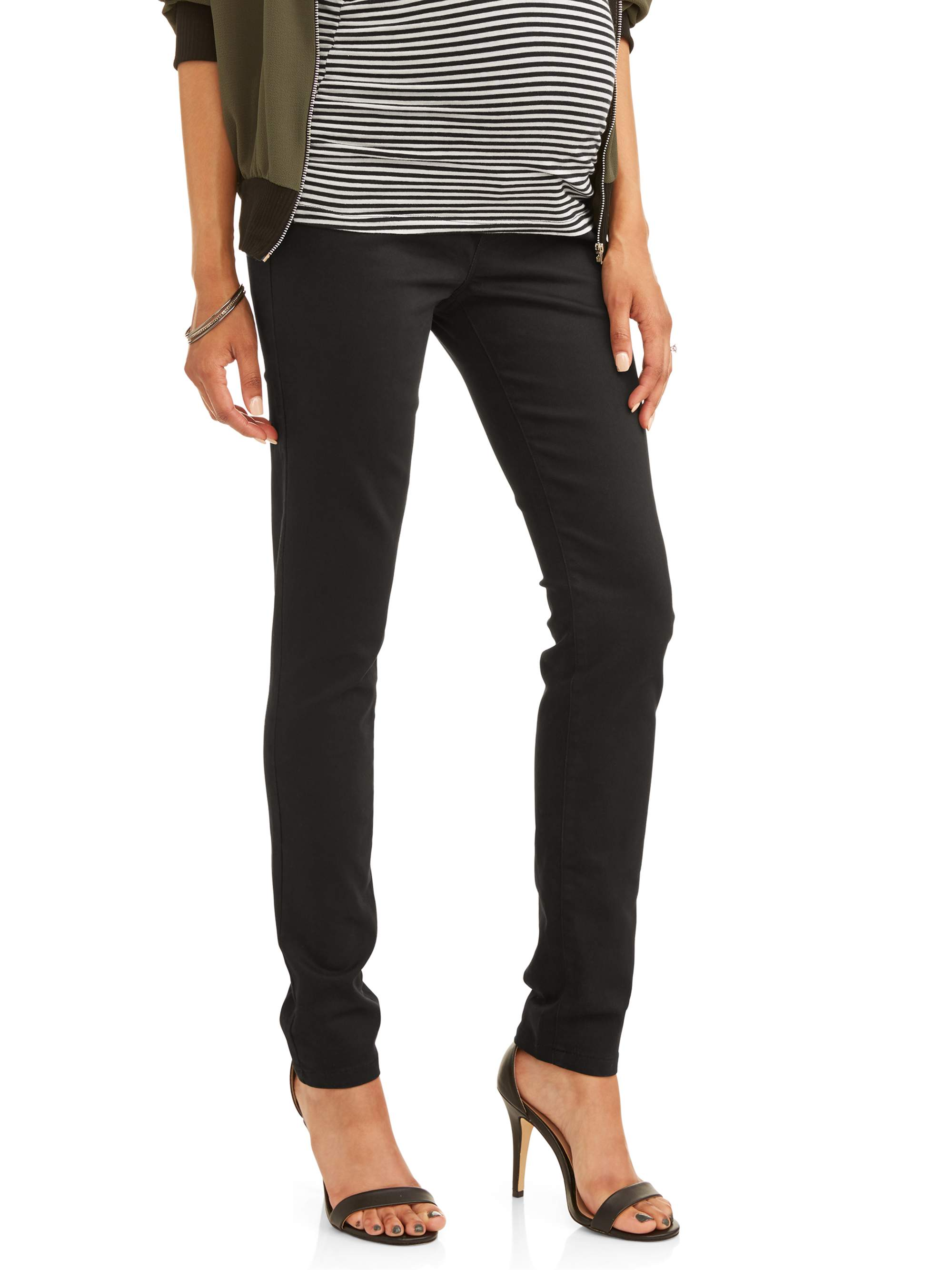 Maternity Full Paneled Skinny Jeans by Jaax