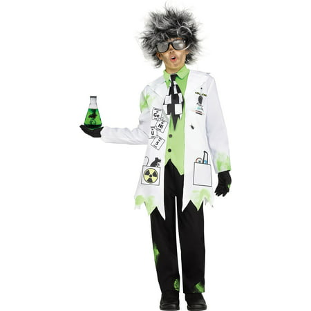 Mad Scientist Boy Child Halloween Costume - Halloween Mad Scientist Lab