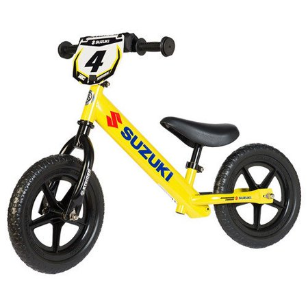 92e014c3e33 Strider Kids Sport 12 Custom Suzuki Training Balance Running Bike -  Walmart.com