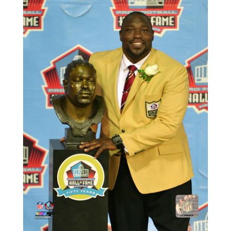 Warren Sapp 2013 NFL Hall of Fame Induction Ceremony Photo Print