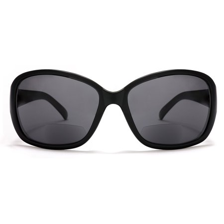 Women's BiFocal Sun Readers Fashion Sunglasses Snooki Poof Nation Sun Readers Black - 1.5 / (Snooki Shades)
