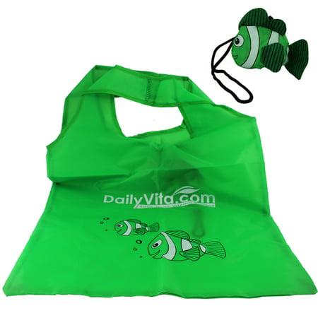 Cute Little Fish Fold up Reusable Shopping Tote/Shopping Bag Cute Little Fish Fold up Reusable Shopping Tote/Shopping Bag