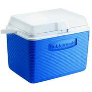 Rubbermaid 2A13-04 MODBL Water Cooler, 24 qt Cooler, Plastic, Modern Blue