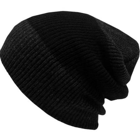 Men and Women's Fashion Baggy Warm Winter Knit Ski Beanie Skull Slouchy Caps Hat Wool