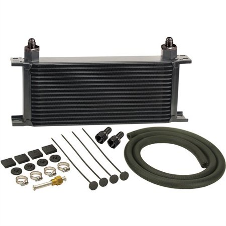 Derale Transmission Pan Coolers (Derale 13402 16 Row Stacked Plate Transmission Cooler Kit )
