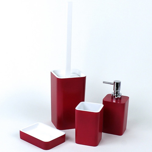 Gedy by Nameeks Arianna 4-Piece Bathroom Accessory Set