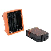 INDUSTRIAL SCIENTIFIC VTSB-311 Replacement Battery, Alk, Orange