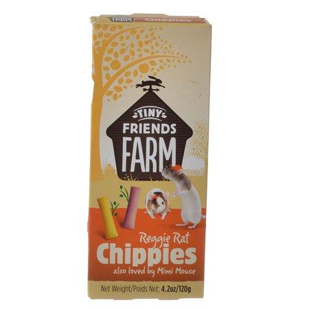 Tiny Friends Farm Reggie Rat Chippies 4.2 oz