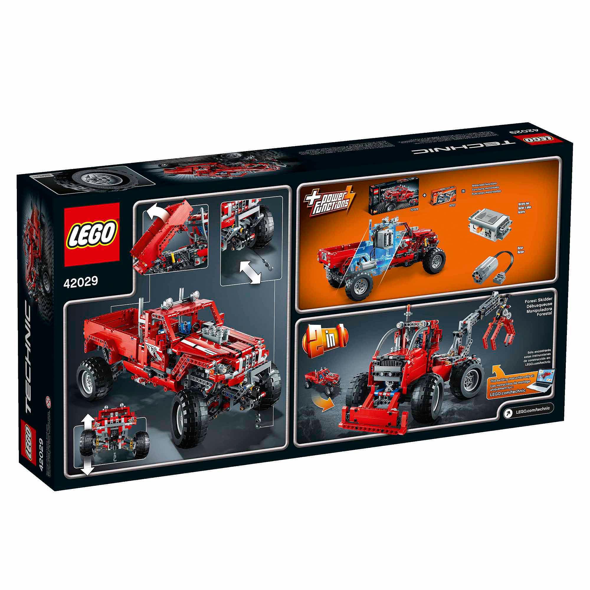 Lego Technic Customized Pick Up Truck Walmart