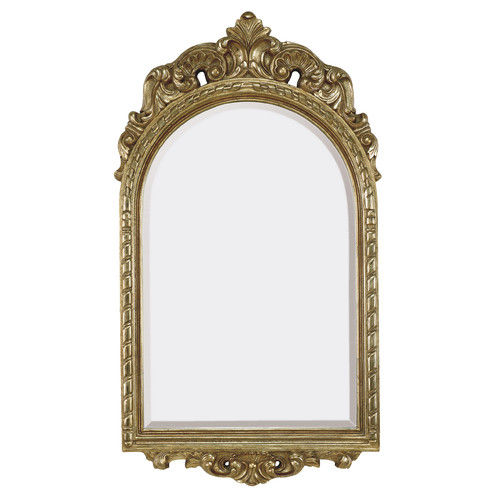 Majestic Mirror Traditional French Style Beveled Glass Wall Mirror