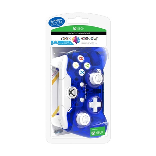 Rock Candy Gaming Pad for Xbox One - Blueberry Boom