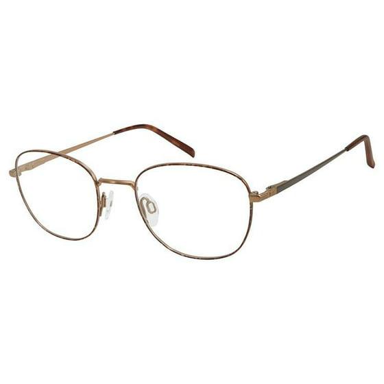 30dc8917fc Charmant Pure Titanium TI 11442 Eyeglasses TT Tortoise - Walmart.com