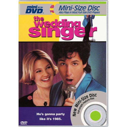 WEDDING SINGER (MINI-DVD)