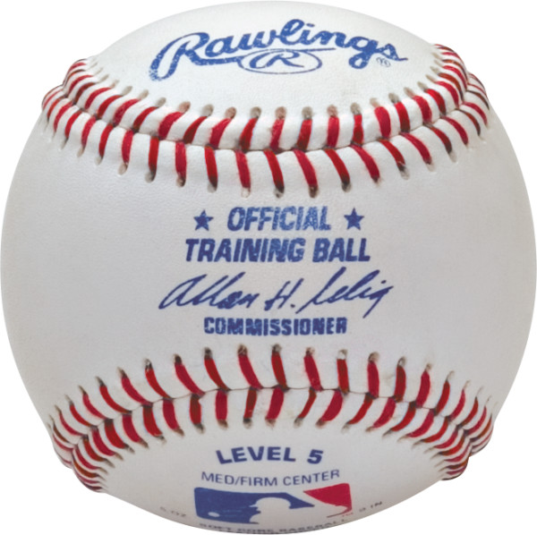 Rawling Level 5 Soft Center Training Baseballs (Dozen)