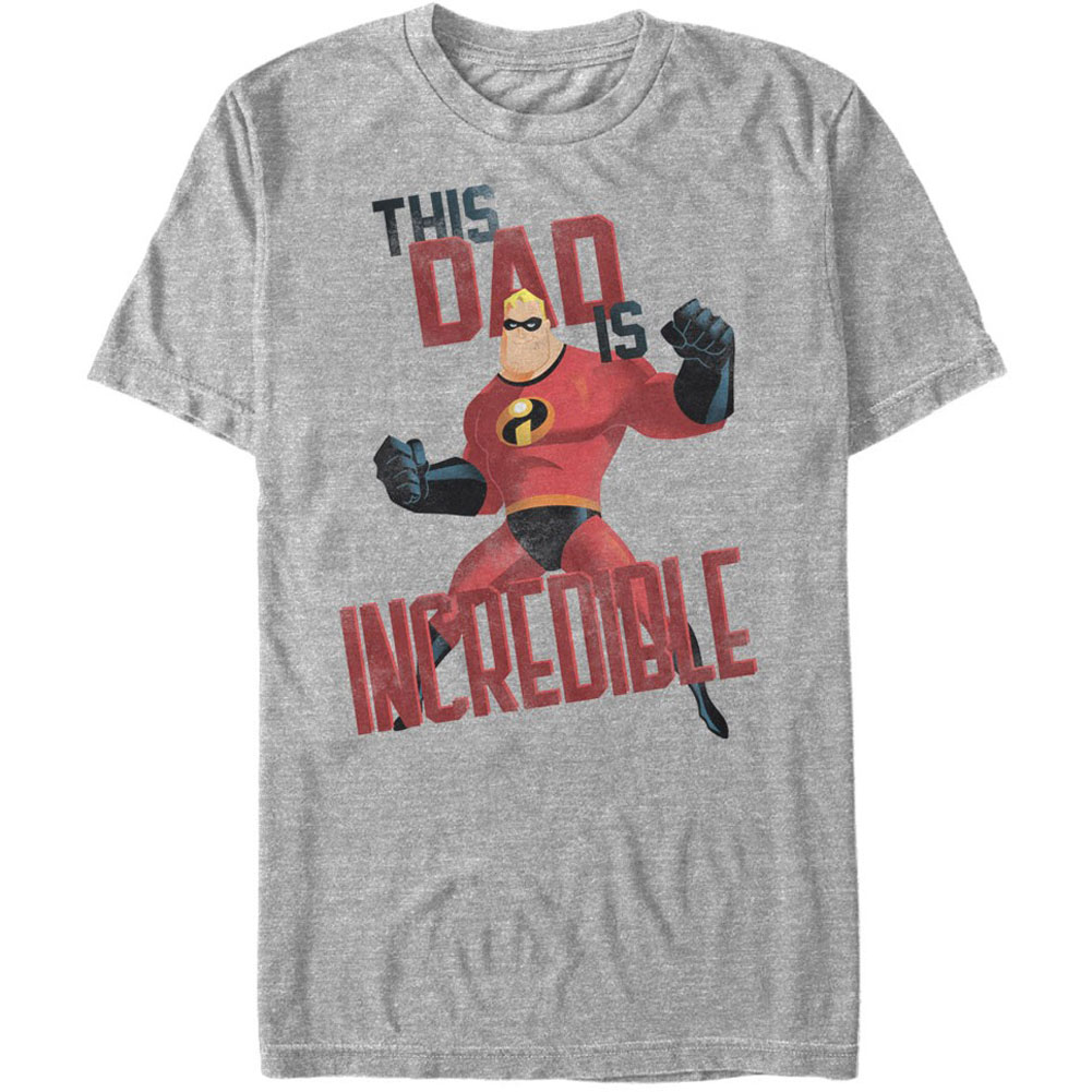 Incredibles Men's  This Dad - Heather T-shirt Athletic
