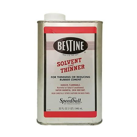Best-Test Bestine Rubber Cement Thinner, Quart