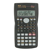 Tomshine Portable Multifunctional Scientific Calculator 2 Line LCD Display 240 Functions Battery Powered Stationery Calculating Tools for School Student Teacher Office Business