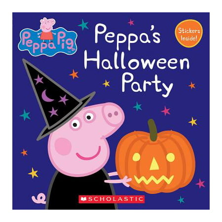Peppa's Halloween Party (Peppa Pig: 8x8) (Paperback)](Ways To Paint Face For Halloween)