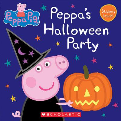 Peppa's Halloween Party (Peppa Pig: 8x8) (Paperback)](Peppa Pig Halloween Stencil)