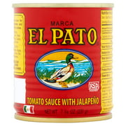 (3 Pack) El Pato The Original Tomato Sauce with Jalapeo, 7 3/4 oz