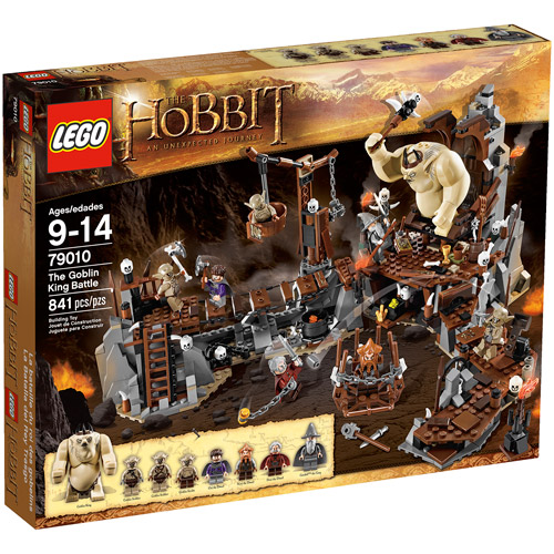 LEGO Hobbit The Goblin King Battle Play Set