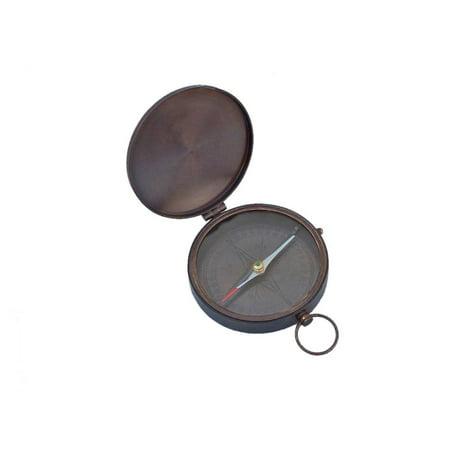 Bronzed Gentlemen's Compass With Rosewood Box 4