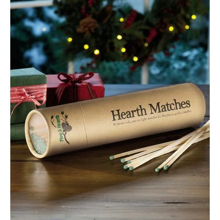 Long-Reach Fireplace Matches & Tube, Set of 2, 90 ct - Matchboxes Bulk