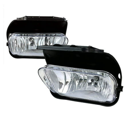 - Fog Lights For Chevy Silverado 2003 2004 2005 2006 2007 All Models Avalanche 2002 2003 2004 2005 2006 Without Body Cladding (OE Style Clear Lens w/Blubs)