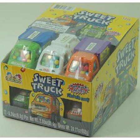 Product Of Kidsmania, Sweet Truck Candy, Count 12 - Sugar Candy / Grab Varieties & Flavors - Sweet Tart Candy