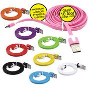 10 Ft Charger + Sync Cable For Android (36 Units Included)