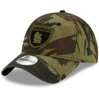 St. Louis Cardinals New Era Camo Crest 9TWENTY Adjustable Hat - Camo - OSFA