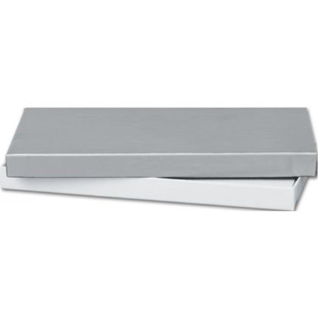 Deluxe Small Business Sales 52-060301-7 6.63 x 3.25 x 0.63 in. Gift Certificate Boxes, Silver ()