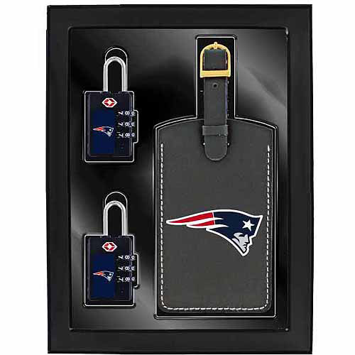 Aminco 3-Piece Luggage Security Gift Set, Patriots