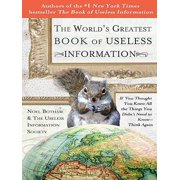 The World's Greatest Book of Useless Information - eBook