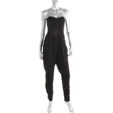 7a4e53ec3363 Milly - Milly Womens Silk Bustier Jumpsuit - Walmart.com