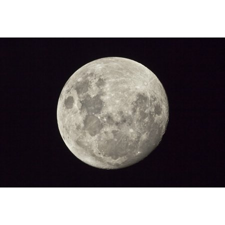 The Moon As Seen From The Southern Hemisphere Canvas Art   Philip Hartstocktrek Images  18 X 12