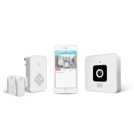 Simplysmart Whole Home Wire Free Security System 1080p 360