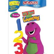 Barney Its Time For Counting DVD by